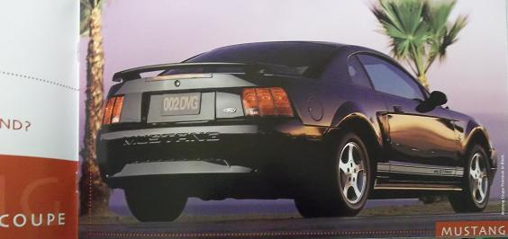 2002 Ford Focus, Mustang, ZX2 Brochure