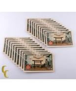 1945 Giapponese 50 Sen Banconote Lotto di 20 Pezzi Tutti Fior Conio Cond... - $74.24