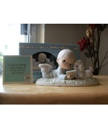 """1985 Members Only  Precious Moments """"I Love To Tell The Story"""" Figurine  - $45.00"""