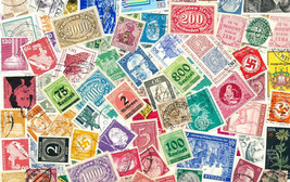 Germany 150 Different Used Stamps