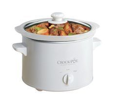 Slow Cooker Remy Crock Pot 5025 WG 2.5 Quart Glass lid Rinse Clean stic... - £37.65 GBP