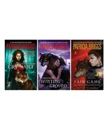 CRY WOLF / HUNTING GROUND / FAIR GAME Alpha & Omega Books 1-3 Patricia B... - $21.99