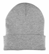 SSUR New York NY SIN Black or Grey Gun Fold Over Cuff Beanie Winter Hat NWT image 6