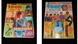 Teen World October 1970 August 1970 Cowsills Brady Bunch Partridge Famil... - $24.99