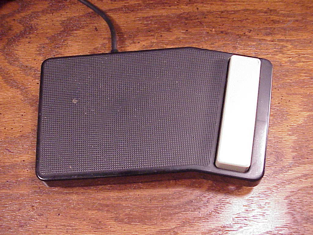 Used Olympus Transcriber Foot Pedal Switch, model RS-12