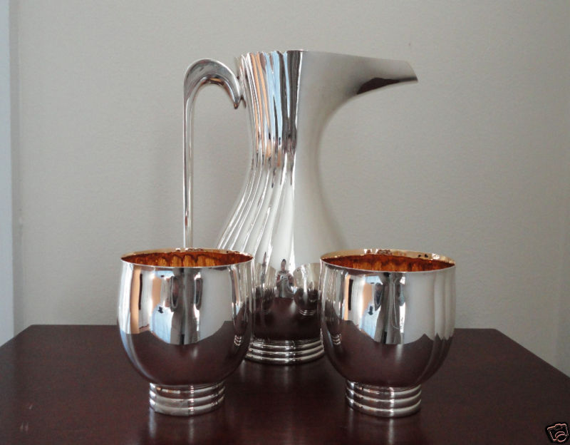 Bvlgari Bulgari English Sterling Silver Pitcher Set