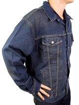 BRAND NEW LEVI'S MEN'S PREMIUM COTTON BUTTON UP DENIM JEANS JACKET 705070604 image 4