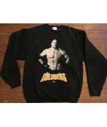 Vintage 80s/90s Goldberg WCW WWF Zubaz Sweatshirt Medium Mint USA - $37.76