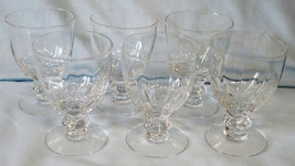 """Heisey Crystolite Fruit Cocktail 3 5/8"""" set of 6 - $48.40"""