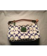COACH Leatherware EST. 1941 Canvas Small Handbag - $38.61