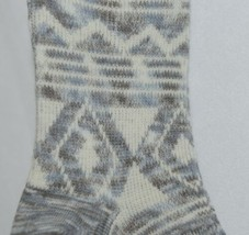 Simply Noelle Ankle Socks Grays Light Blues Cream Colors One Size Fits Most image 2