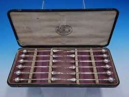 "Ball End by George Sharp Sterling Silver Nut Pick Set 12pc in Box 11"" x ... - $1,309.00"