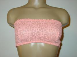 14702b6161f Victoria  39 s Secret peach strapless bandeau bra bralette strappy back-L-