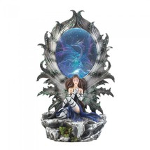 Fairy And Dragon Lighted Figurine - $46.75