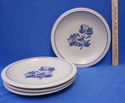 Set 4 Pfaltzgraff Yorktowne Dinner Plates w/ Bl... - $23.01