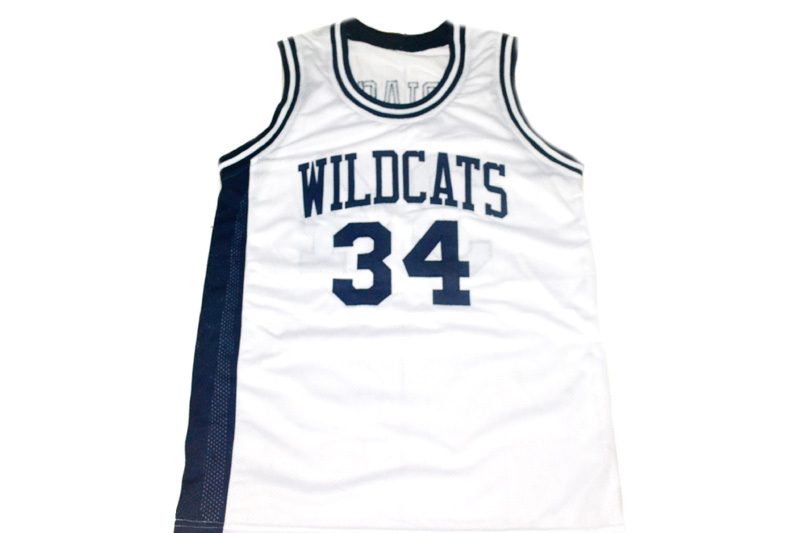 Len Bias #34 Wildcats High School New Men Basketball Jersey White Any Size