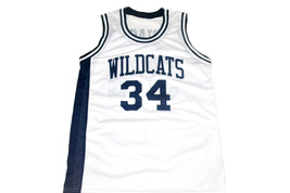 Len Bias #34 Wildcats High School Men Basketball Jersey White Any Size image 1