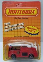 1987 Matchbox SuperStars Snorkel Fire Engine vehicle MB 63 NIP - $8.99