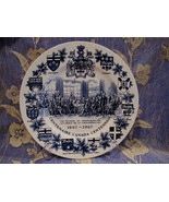 Canada Centennial Souvenir Collector Plate Vintage Fathers of Confederation - $14.95