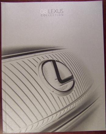 2008 Lexus Full Line Brochure