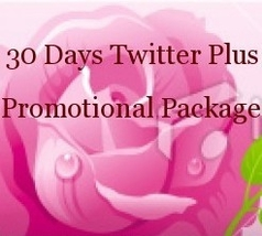 7 Items For 30 Days Twitter Plus Promotion Package - $19.99
