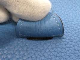 HERMES Evelyne 3 PM Taurillon Clemence Bleu Paradis Shoulder Bag #R Authentic image 12