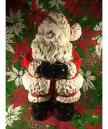 "Darling 1960's Vintage 14"" Ceramic Winking Santa - $44.00"