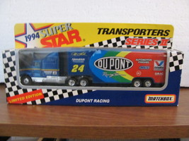 NASCAR COLLECTABLE - Matchbox 1994 Super Star Limited Edition Transporter #24 Je - $23.95