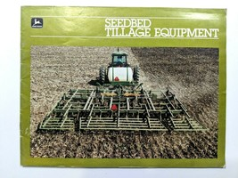 John Deere Vintage Color Brochure Seedbed Tillage Cultivator Equipment 7... - $33.87