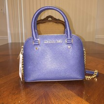 NWT MICHAEL Michael Kors Cindy Mini XS Crossbody in Navy - $116.60