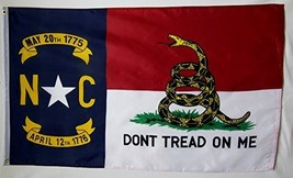 Don't Tread On Me North Carolina Gadsden 3' X 5' Gun Rights Liberty and ... - $9.95