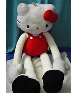 "Hello Kitty 31"" Plush Doll Stuffed Stretch Kins Long Stretch Arms Legs - $21.43"