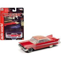 1958 Plymouth Fury Red (Partially Restored) Christine (1983) Movie 1/64 ... - $18.02