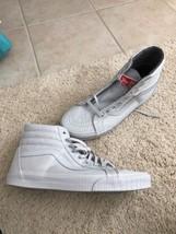 VANS SK8- Hi Reissue Mono Surplus Micro Chip Grey Men's Skate Shoes VN0A... - $40.99