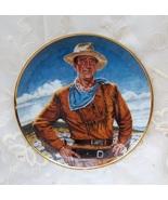 RARE FRANKLIN MINT JOHN WAYNE COWBOY THE DUKE PLATE - $22.99
