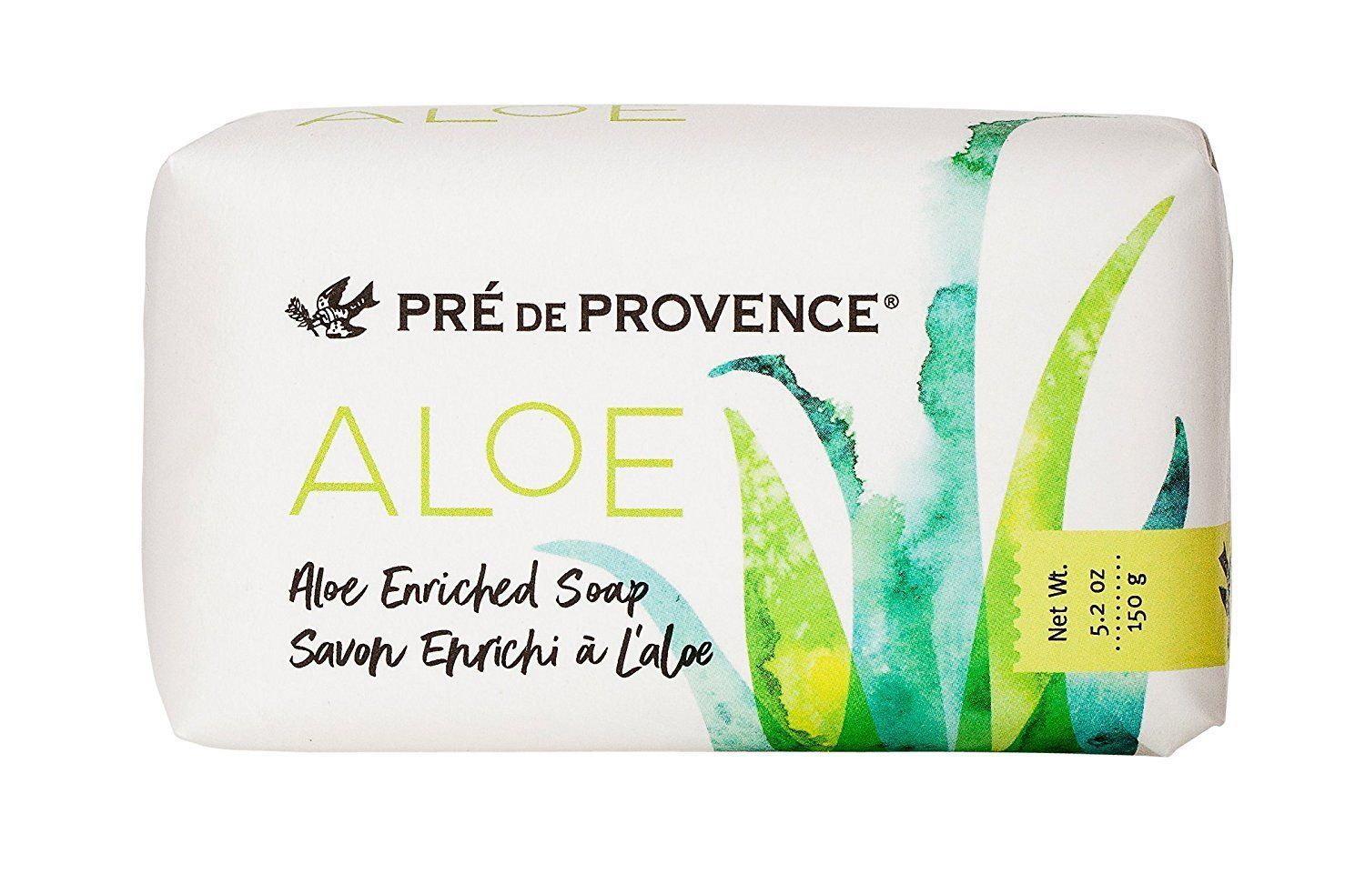 Pre De Provence French Bar Soap Aloe Enriched 150g Gram 5.2 Ounce Shea