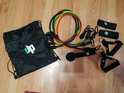 UPOWEX Unbreakable Resistance Bands Set – 5 Stackable Exercise Bands NEW