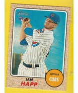 IAN HAPP 2017 TOPPS HERITAGE #660 CHICAGO CUBS ROOKIE CARD  - $3.98
