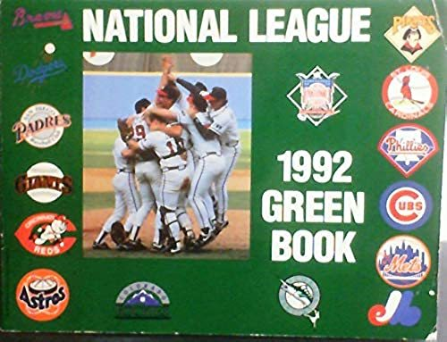 Primary image for National League 92 Green Book Sporting News; Feeney, Katy and Carter, Craig