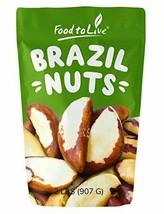 Brazil Nuts, 2 Pounds - Raw, No Shell, Kosher - $39.59
