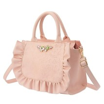 Disney Little Mermaid Ariel Pink handbag Princess Princess 2 Way shoulde... - $96.03