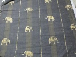 Westpoint Stevens Bedspread Queen Elephants Tribal Jungle Animal fabric ... - $45.00