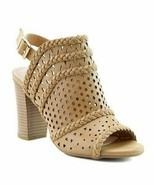 DBDK Fashion, Camel Braided Lily Sandal, Sz 6 - $26.73