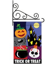 Trick or Treat Night - Applique Decorative Metal Fansy Wall Bracket Gard... - $29.97