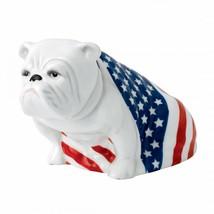 Royal Doulton Bulldog SAM USA Figurine # 40000730 Hand Signed Box only s... - $321.75
