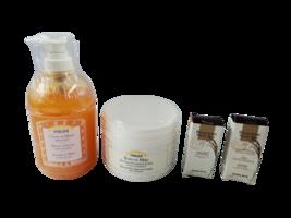 Perlier Honey Cream for Bath 16.9 oz, Soin de Miel Body Balm 13.5 oz, Ha... - $49.99