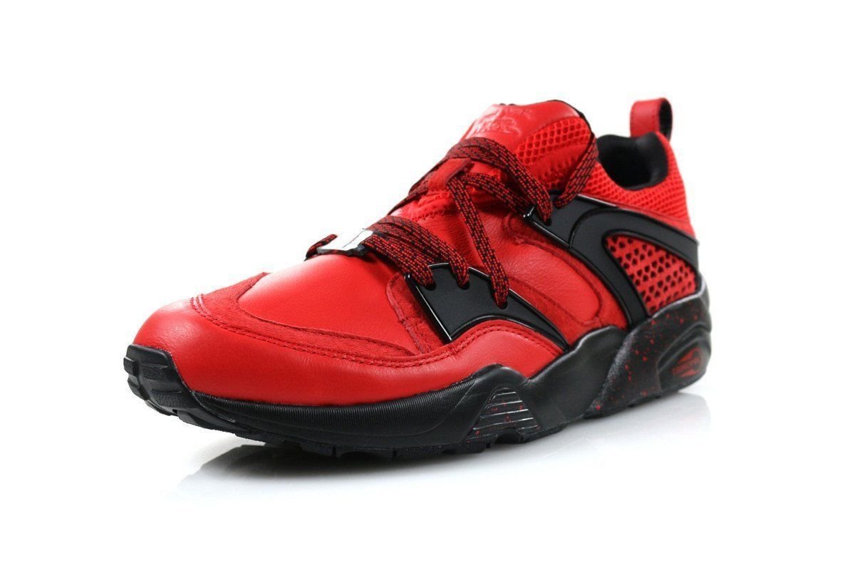 Mens Puma Rise Blaze Of Glory BOG New York Is For Lovers High Risk Red 360999-01
