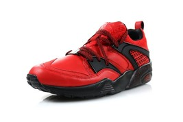 Mens Puma Rise Blaze Of Glory BOG New York Is For Lovers High Risk Red 3... - $144.99