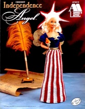 Annie's Independence Angel Crochet Pattern Leaflet 870818 1998 - $12.00