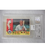 1960 Topps #350 Mickey Mantle Grade 9 - $2,138.40